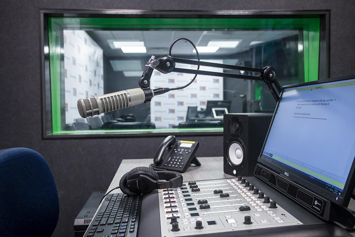 Image result for radio studio