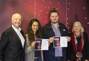 Woss Family Scholarship recipients