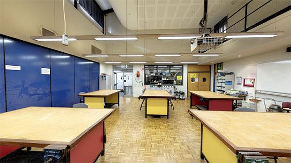 Teaching Wood work lab