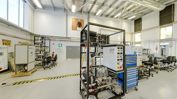 Chemical Engineering Lab at ECU's Joondalup Campus