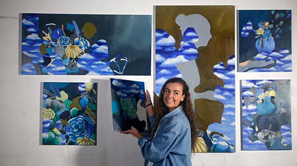 ArtsHum exhibition at ECU Mount Lawley Campus