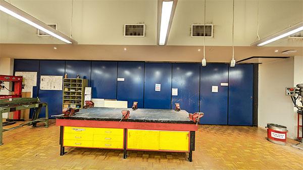 Teaching Metal work lab