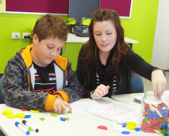 Literacy and numeracy programs are conducted by the Fogarty Learning Centre