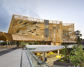 ECU's award-winning Ngoolark Building at Joondalup Campus