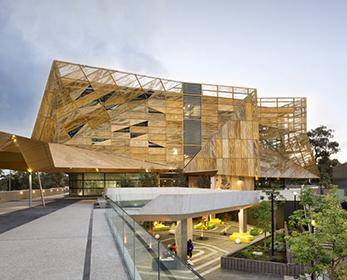 ECU's award-winning Ngoolark Building at Joondalup Campus