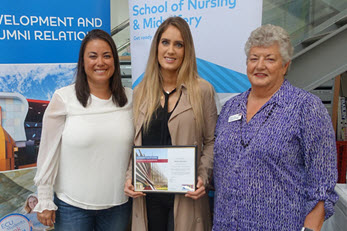 Doreen Collyer Inaugural Scholarship awarded