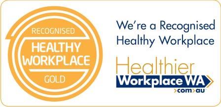 Healthier Workplace WA logo