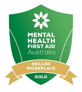 Mental Health First Aid Gold status