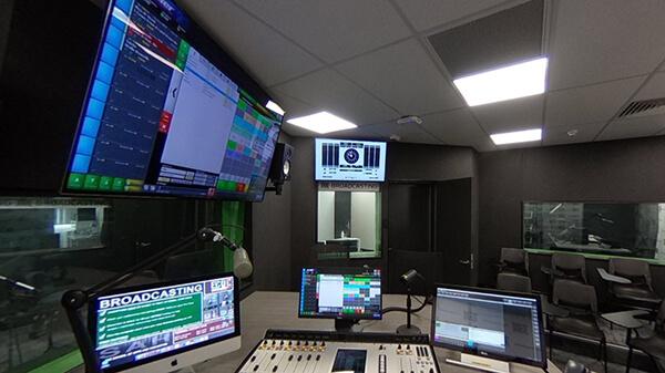 Postgraduate Radio Broadcasting Area