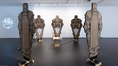 Polyphony exhibition at ECU's Gallery25