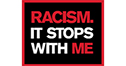 Racism it stops with me logo