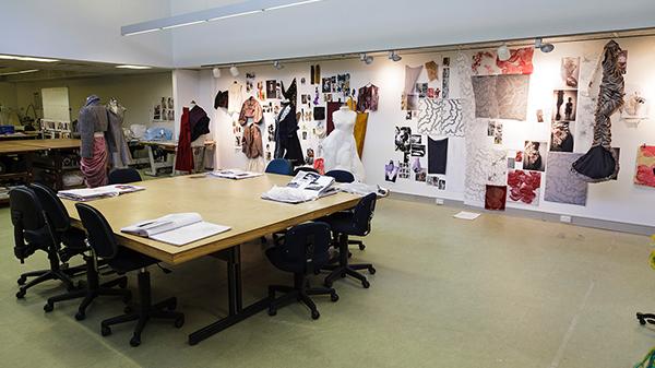 Fashion studio on ECU Mount Lawley Campus