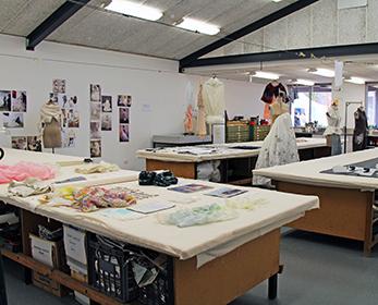 Fashion print studio at ECU