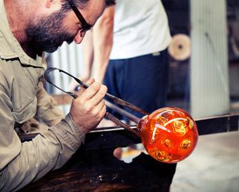 Hot Glass workshop