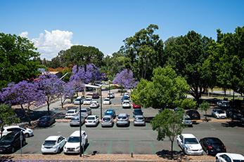 Car park at Mount Lawley Campus