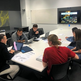 Business students taking action on climate change