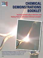 Chemical Demonstrations Booklet 2016 cover image