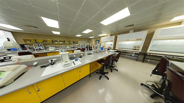 Genetics lab on ECU Joondalup Campus
