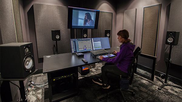 WA Screen Academy Sound Studio on ECU Mount Lawley Campus