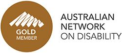 Australian Network in Disability logo