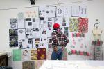 Fashion print studio assessment set up