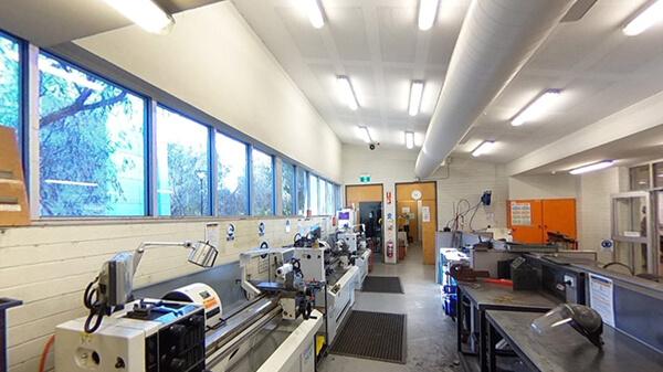 Metalwork Machinery Room