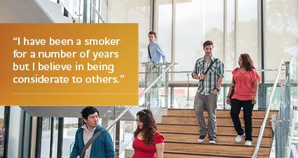 ECU is smoke-free