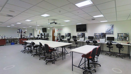 Schneider Electric Industrial Control & Automation Laboratory