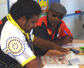 Screening Aboriginal Australians who have suffered a stroke or traumatic brain injury.
