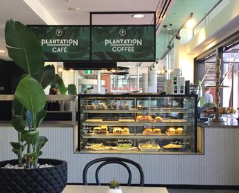 Plantation cafe food counter
