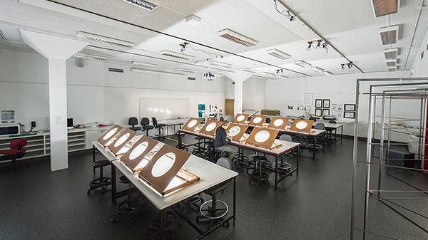 Drawing facilities on ECU Mount Lawley Campus