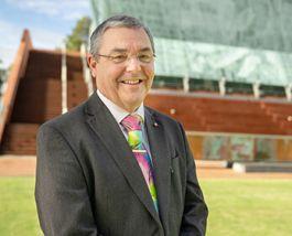 Professor Steve Chapman CBE, Vice-Chancellor, ECU