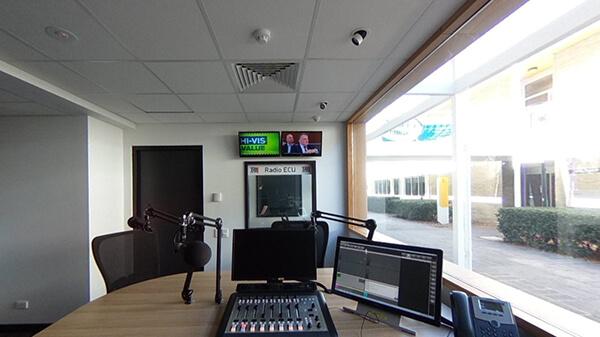 Radio Broadcasting Studio