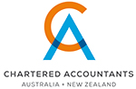 Chartered Accountants Australia and New Zealand logo