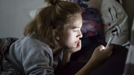Teens use of devices could be affecting their sleep.