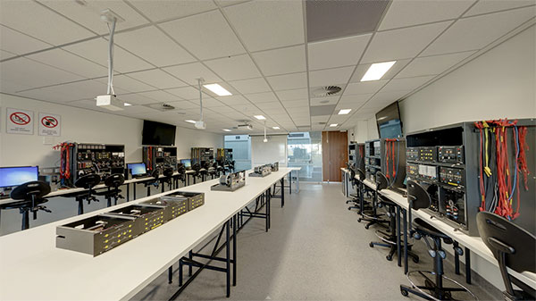 Power Systems Lab at ECU's Joondalup Campus