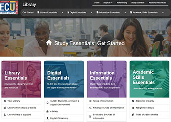 A new online resource to help you find essential information at ECU