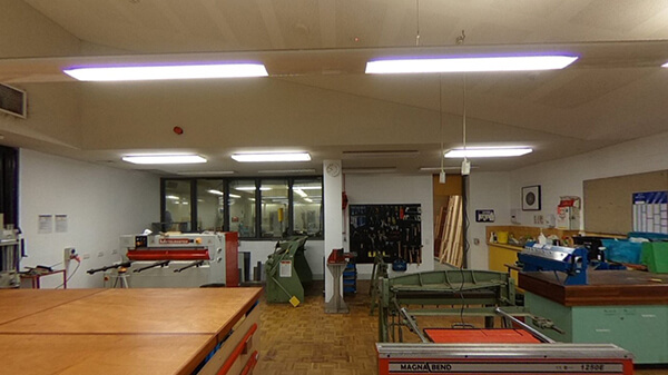 Woodwork Machinery Room