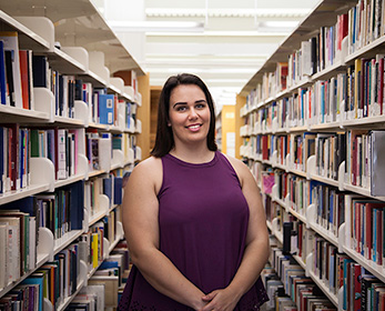 Mikayla King is the recipient of the Vice-Chancellor's Aboriginal and/or Torres Strait Islander Scholarship.